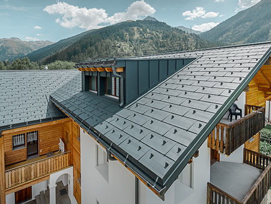 Coverings for every roof shape